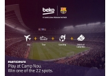 1 x sesiune de antrenament pe Camp Nou + cazare + transport + transfer