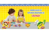 5 x multicooker Philips, 10 x Storcator de fructe Philips, 10 x Mixer Vertical Philips, 1250 x cande super-plastilina Play-Doh