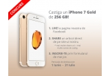 1 x iPhone 7 Gold 256 GB