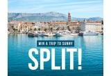 1 x 2 bilete de avion la Split + 6 nopti cazare intr-un hotel de 4* + tur privat al orasului de 2 ore + zipline si rafting in Omiš + excursie la Hvar cu bilete e feribot si tur cu ghid