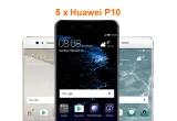 5 x smartphone Huawei P10