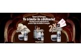 10 x set Tesori d'Oriente (halat de baie/ troler/ voucher turistic de 200 euro) + crema de corp + crema de baie/