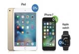 1 x iPad mini 4, 1 x iPhone 7 32GB, 1 x Apple Watch