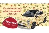 1 x masina Fiat 500 E6 Lounge, 20 x Dispozitiv de scos samburi cirese, 17 x Dispozitiv de scos samburi prune