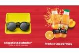 3 x pereche ochelari Snapchat Spectacles, 50 x bax de bautura Cappy