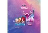 1 x pachet complet pentru tine & persoana draga la concertul Lady Gaga din Paris, 5 x Kit de produse Live