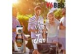 1 x gratar de gradina SMOKED Gratar carbuni, 40 x gama completa V6BBQ (sosuri+condimente),