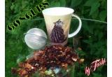 1 x 2 pachete de ceai + cana + infuzor de ceai