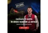 3 x Cazare la URSUS MANSION 3-7 august pentru 4 persoane + 4 abonamente VIP la festivalul UNTOLD 2017