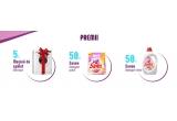 50 x Detergent pudra Savex 4kg, 50 x Detergent lichid Savex 2.6L, 5 x Masina de spalat Whirlpool 7kg - AWOC 70100