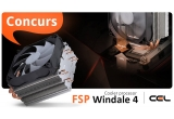 1 x Cooler procesor FSP Windale 4 ac401