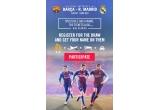 1 x 2 bilete la Super Cupa Spaniei + cazare + transport + transfer + 2 bilete pentru a asista la Camp Nou Experience