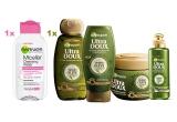 1 x set de produse cosmetice Garnier constand in Gama Ultra Doux Mythic Olive + Apa Micelara Garnier Skin Naturals 125 ml
