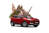 1 x mașina Ford Kuga, 4 x city break in Europa, 100 x accesoriu pentru casa si gradina