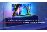 1 x televizor LED Smart Ultra HD Android diagonala 108 cm Philips 43PUS6501/12