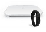 1 x Xiaomi Mi Smart Cantar Alb + Xiaomi Bratara MiBand 2 cu Display Oled Fitness Monitor