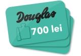 11 x voucher Douglas in valoare de 700 de lei