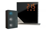 1 x termostat inteligent Momit Starter Kit Pure + accesoriu conexiune wireless Gateway