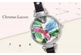 1 x ceas de dama Caribe Black - Christian Lacroix