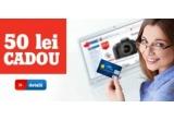 garantat: 50 ron inapoi pe card