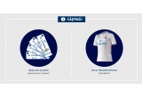 500 x tricou oficial Real Madrid, 1 x 4 bilete la meciul Real Madrid – Barcelona + zbor + cazare + transfer