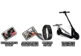 3 x Trotineta electrica E-twow, 3 x Bratara fitness Fitbit Charge 2, 10 x voucher pentru achizitionarea unui echipament sportiv, 2 x abonament World Class valabil 1 an de zile