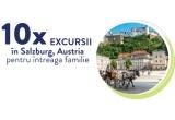 10 x excursie in Salzburg - Austria in hotel 4* pentru 2 adt & 2 chd, 10 x set trollere Benzi