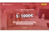 5 x 1000 euro