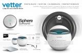 15 x boxa Vetter iSphere Surround Bluetooth Speaker