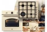 1 x set rustic Beko – plita și cuptor incorporabil
