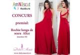 1 x rochie de seara Dolce Monti, 10 x premiu surpriza de la Amnascutacolo.ro