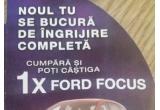 1 x masina Ford Focus Trend, 1 x Sejur in zona montana cu SPA inclus, 10 x Cos cu produse Schauma, 10 x voucher Kaufland de 200 ron