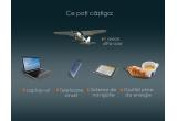 1 x avion ultra-ușor P92 Echo Light, laptopuri, smartphone-uri, sisteme de navigatie, gustari pline de energie