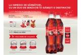 3 x voucher de vacanta pentru Praga/ Amsterdam/ Oslo, 26000 x pahar Coca Cola, 4000 x jucarie de plus