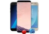 3 x Samsung Galaxy S8, 3 x Samsung Galaxy A5 2017, 3 x Samsung Galaxy J3 2017