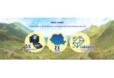 13 x 2 vouchere pentru excursii in Romania cu destinatie la alegere, 225 x set de picnic