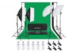 1 x kit profesional de lumini pentru studioul tau