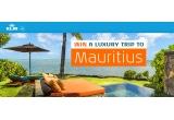 1 x 2 bilete de avion Economy Class in Mauritius + cursuri de golf pe terenul de golf Ernie Els Design de la Clubul de Golf Four Seasons + Transport gratuit cu barca spre insula Ile aux Cerfs din apropiere + sporturi nautice non-motorizate + tenis și biciclete pentru a te plimba pe terenurile de 64 de hectare ale stațiunii + Transferuri gratuite de la aeroport-hotel-aeroport