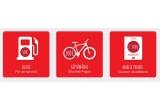 1 x voucherde calatorie cu destinatia la alegere de 2500 euro, 8 x bicicleta Pegas, 61 x voucher de carburant de 235 ron