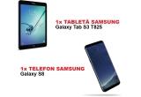 1 x tableta Sasmsung Galaxy Tab S3, 1 x smartphone Samsung Galaxy S8