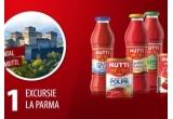 1 x excursie de 1 zile la Parma - Italia, 25 x cos de produse Mutti