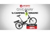 1 x e-bike Camping Dinamic, instant: voucher Pegas cu 20% reducere