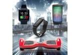 1 x bratara SmartFitness, 1 x smartwatch SmartTime, 1 x boxa TheBeat, 1 x Hoverboard LexGo Boxter