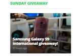 1 x smartphone Samsung Galaxy S9