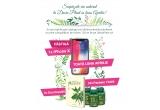 1 x iPhone X, 3 x Enciclopedia Plantelor, 10 x pachet cu produse aniversare Dacia Plant