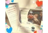 3 x Calendarul bebelusului acvatic 2018 + Invitatie pentru o Sedinta Gratuita de educatie acvatica pt bebelusi la piscina + voucher de reduceri de 50 ron la abonamentele de la piscina Acvatic Bebe Club sau Salina by Abc