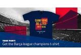 1 x tricou FC Barcelona sezonul 2017-2018 pentru Liga Campionilor