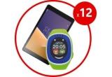 12 x pachet constand in o tableta Vodafone Smart TAB N8 + ceas Myki Touch