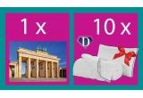 1 x vacanța la Berlin pentru 2 persoane, 10 x Set Dormeo Hero