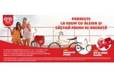 10 x bicicleta Pegas, 50 x kit de vara Algida